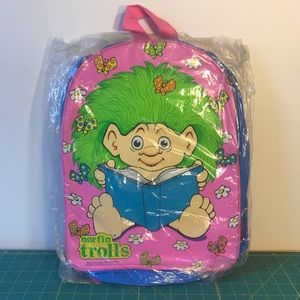 90s Trolls Rave Club Kid Trollz Backpack